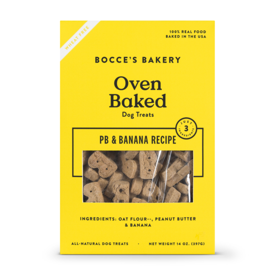Bocces Bakery Bocces Bakery Just Peanut Butter Banana Biscuits 14 oz.