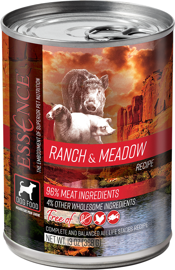 Essence Essence Ranch N Meadow Can Dog Food 13 oz.