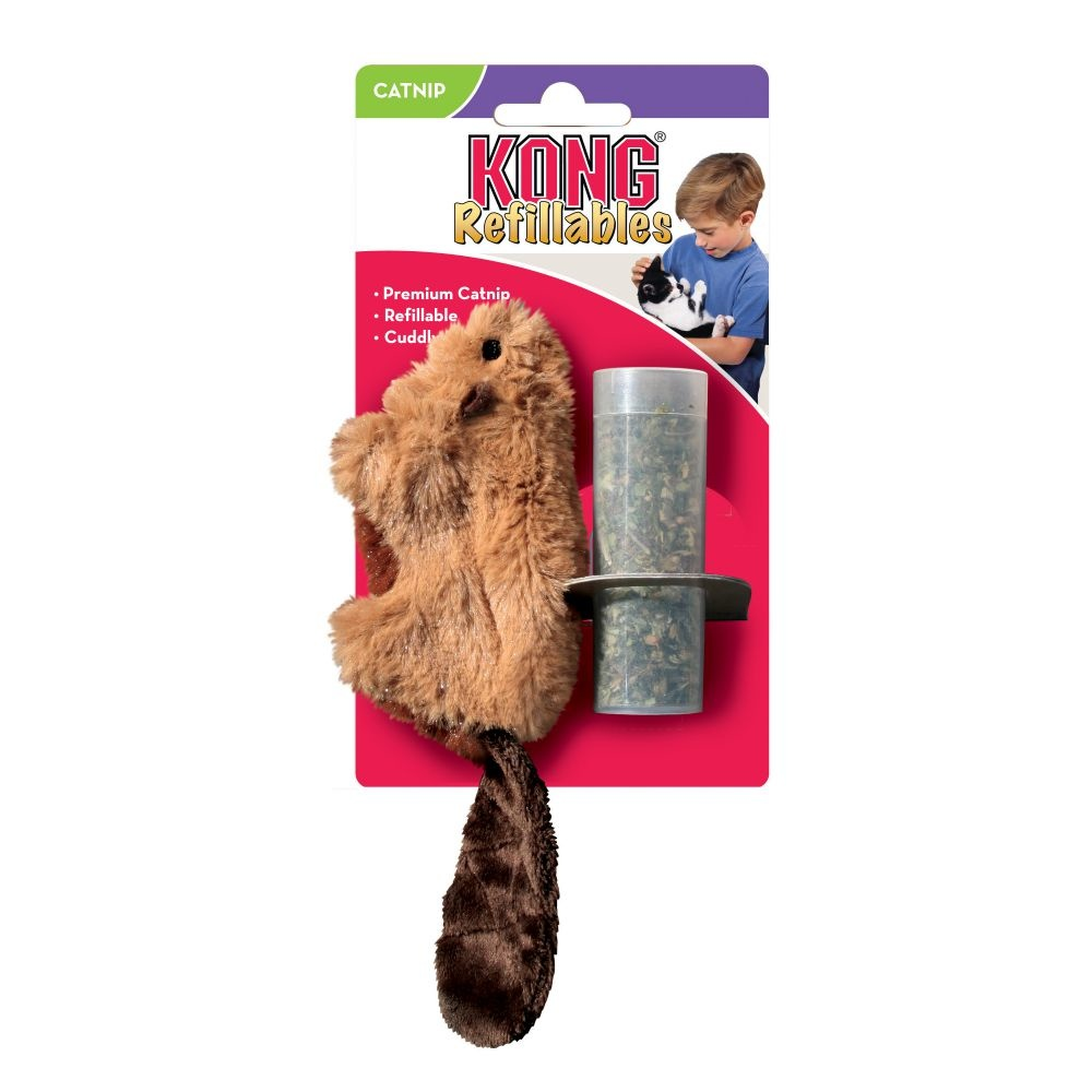 Kong Kong Refillables Beaver
