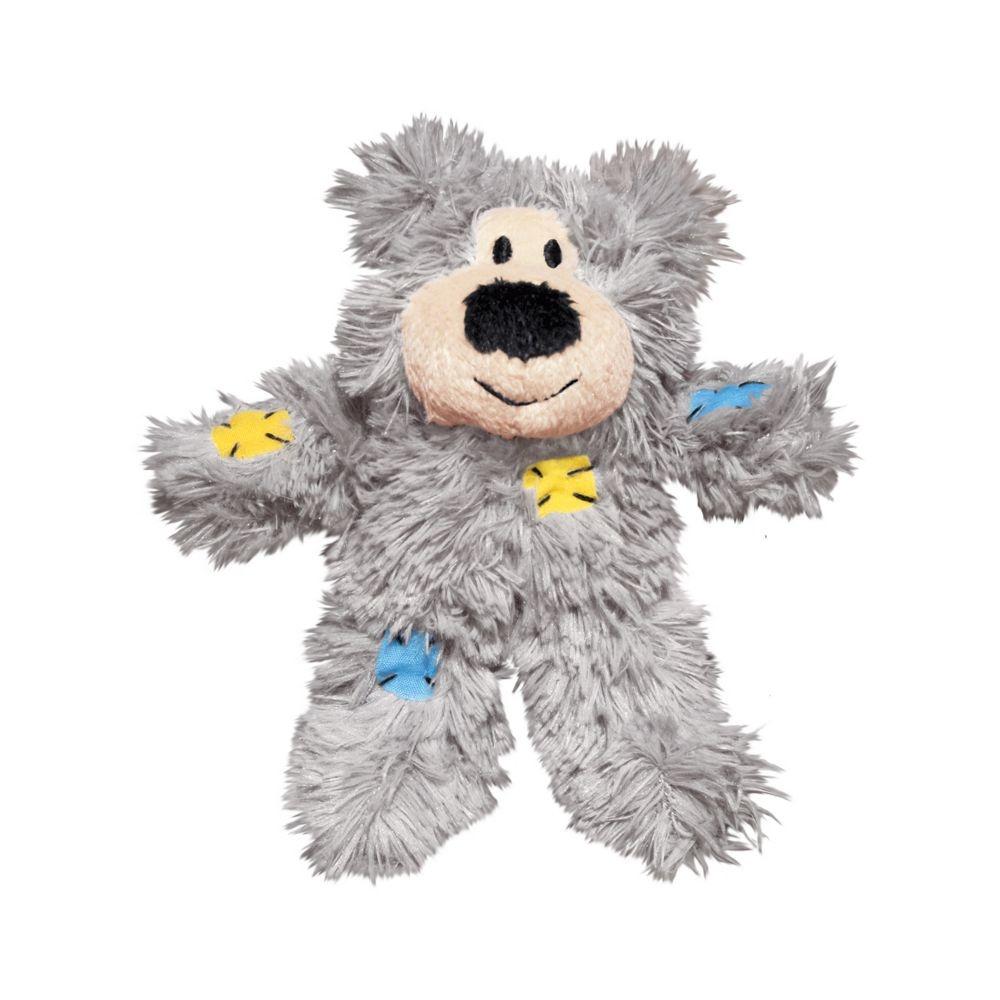 Kong Kong Softies Patchwork Bear Assorted