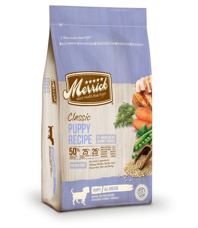Merrick Classic Puppy Recipe for Dogs
