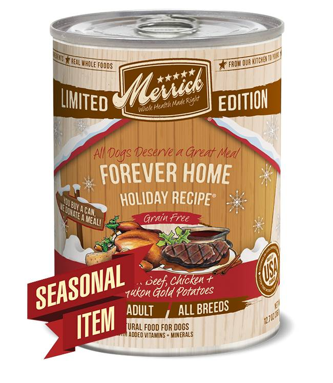 Merrick Grain Free Forever Home Holiday Recipe™ for Dogs