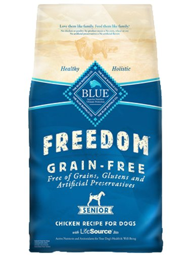 Blue - Freedom BLUE Freedom® Grain-Free Chicken Recipe For Senior Dogs
