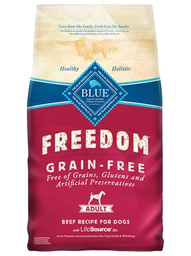 Blue - Freedom BLUE Freedom® Grain-Free Beef Recipe For Adult Dogs