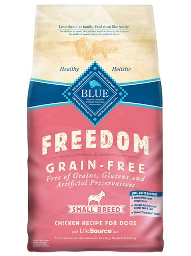 Blue - Freedom BLUE Freedom® Grain-Free Chicken Recipe For Small Breed Adult Dogs