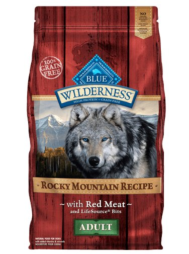Blue - Wilderness BLUE Wilderness® Rocky Mountain Recipe™ Red Meat For Adult Dogs