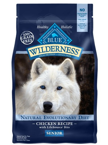 Blue - Wilderness BLUE Wilderness® Chicken Recipe For Senior Dogs