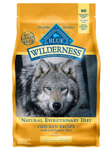 Blue - Wilderness BLUE Wilderness® Healthy Weight Chicken Recipe For Adult Dogs
