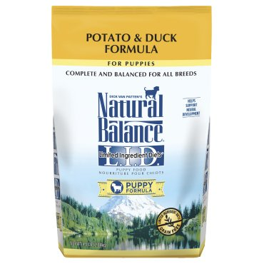 Natural Balance L.I.D. Limited Ingredient Diets® Potato & Duck Dry Puppy Formula for Dogs
