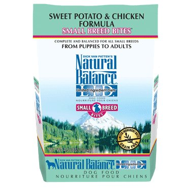 Natural Balance L.I.D. Limited Ingredient Diets® Sweet Potato & Chicken Small Breed Bites® Dry Dog Formula