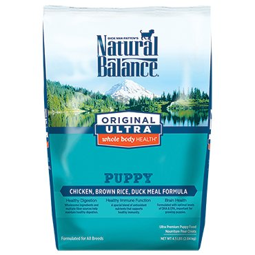Natural Balance Original Ultra® Whole Body Health® Chicken, Brown Rice, Duck Meal Puppy Formula Dry Dog Food