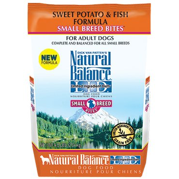 Natural Balance L.I.D. Limited Ingredient Diets® Sweet Potato & Fish Small Breed Bites® Dry Dog Formula