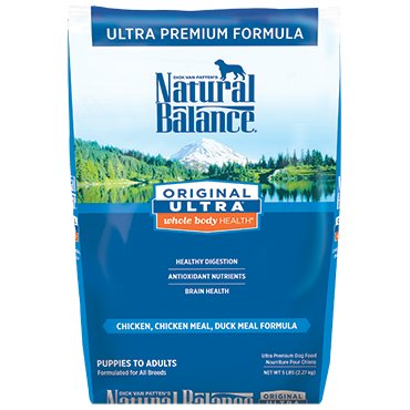 Natural Balance Original Ultra® Whole Body Health® Chicken, Chicken Meal, Duck Meal Dry Dog Formula