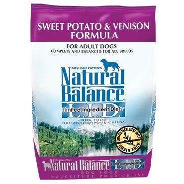 Natural Balance L.I.D. Limited Ingredient Diets® Sweet Potato & Venison Dry Dog Formula