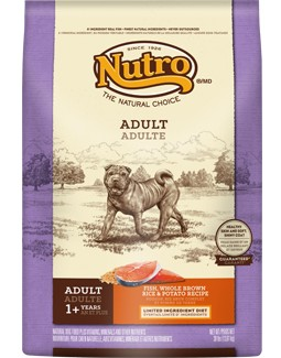 Nutro NUTRO™ Adult Fish, Whole Brown Rice & Potato Recipe for Dogs