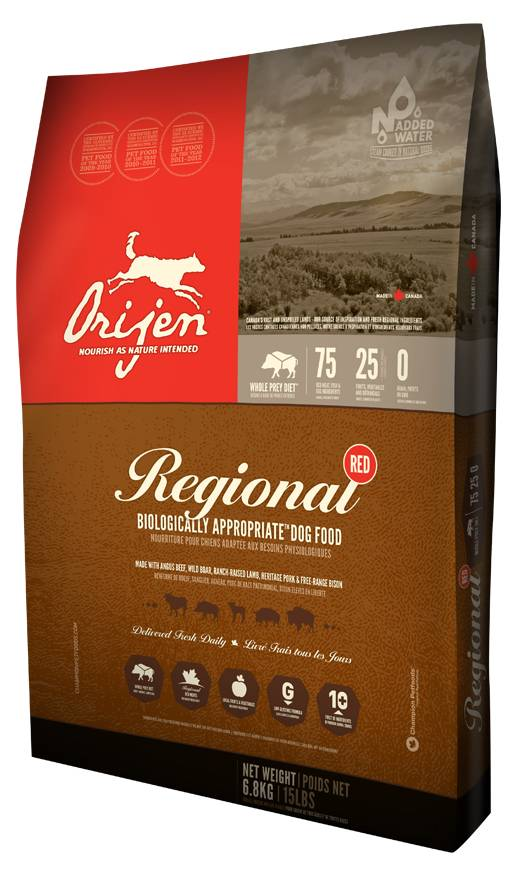 Orijen Biologically Appropriate™ Dog Food- Regional Red