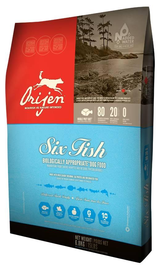 Orijen Biologically Appropriate™ Dog Food- Six Fish