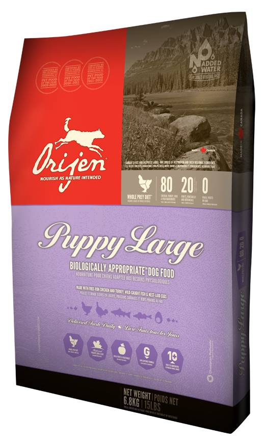 Orijen Biologically Appropriate™ Puppy Food- Large Breed