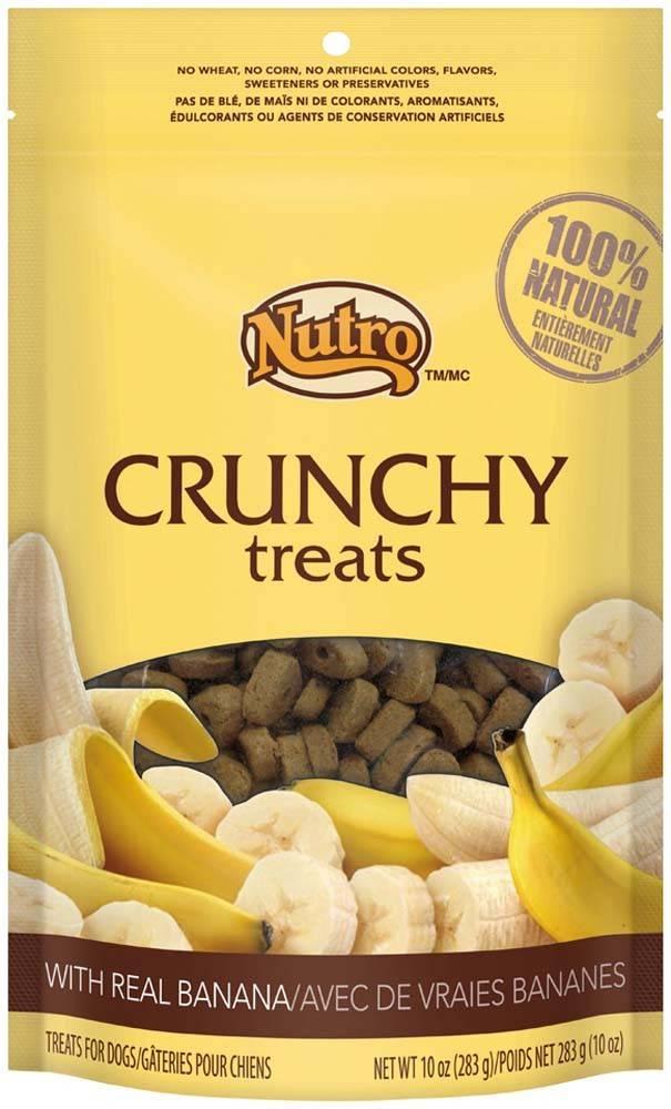 Nutro Nutro Crunchy Dog Treat Banana 10 oz.