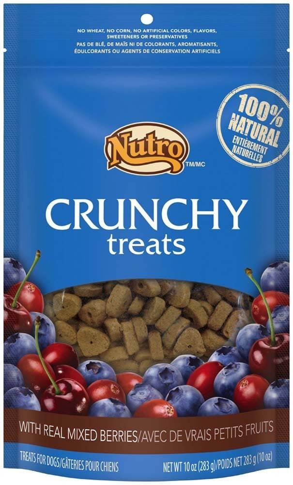 Nutro Nutro Crunchy Dog Treat Mixed Berry 10 oz.