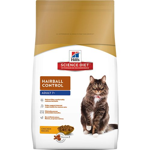 Science Diet Hill's® Science Diet® Adult 7+ Hairball Control for Cats