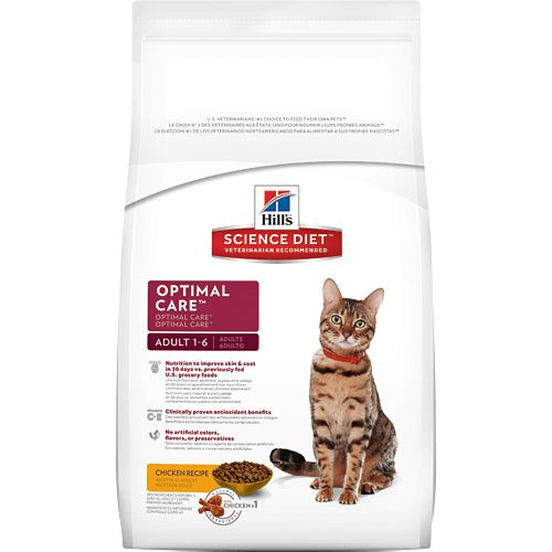 Science Diet Hill's® Science Diet® Adult Optimal Care® for Cats