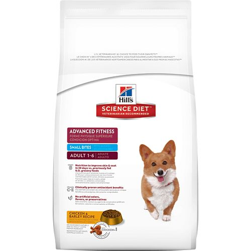 Science Diet Hill's® Science Diet® Adult Advanced Fitness Small Bites Dog Food