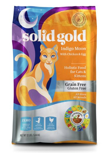 Solid Gold Indigo Moon® With Chicken With Chicken & Egg for Cats