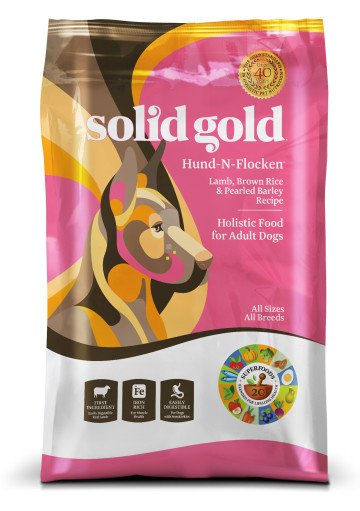 Solid Gold Hund-N-Flocken® With Lamb Lamb, Brown Rice & Pearled Barley Recipe for Dogs