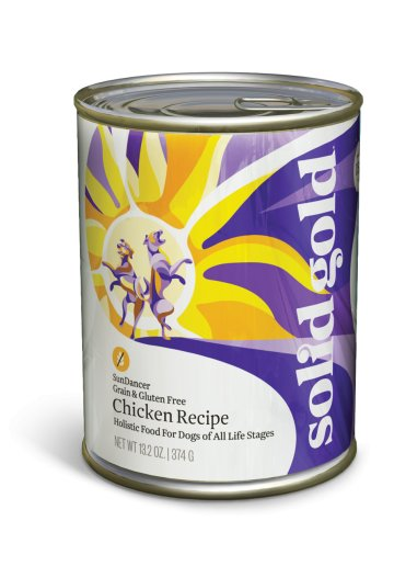 Solid Gold Sun Dancer® Chicken Recipe for Dogs