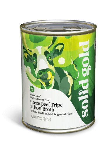 Solid Gold Green Cow® Beef Tripe Grain & Gluten Free Green Beef Tripe in Beef Broth for Dogs