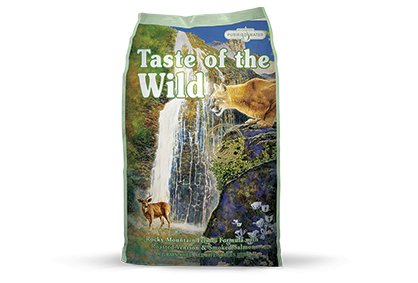 Taste of the Wild Rocky Mountain Feline® Formula with Roasted Venison & Smoked Salmon for Cats