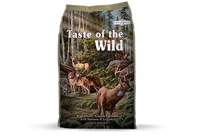 Taste of the Wild Pine Forest® Canine Formula with Venison & Legumes for Dogs