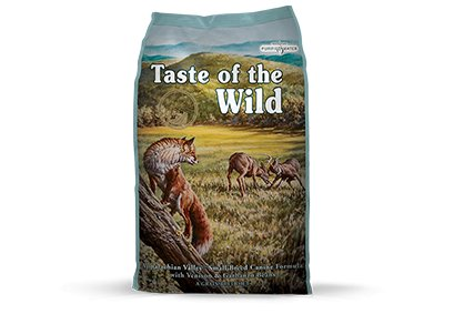Taste of the Wild Appalachian Valley™ Small Breed Canine Formula with Venison & Garbanzo Beans for Dogs