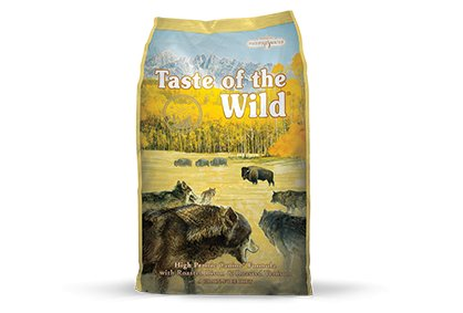 Taste of the Wild High Prairie Canine® Formula with Roasted Bison & Roasted Venison for Dogs