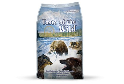 Taste of the Wild Pacific Stream Canine® Formula with Smoked Salmon for Dogs