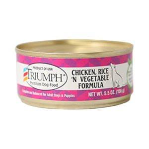 Triumph Triumph Chicken, Rice and Vegetable Formula for Dogs