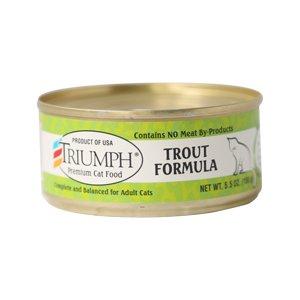 Triumph Triumph Trout Formula Cat Food