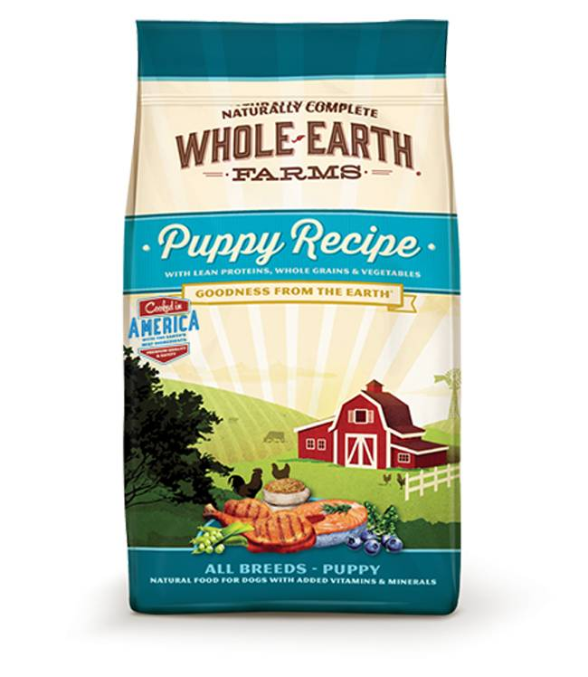 Whole Earth Farms Puppy Recipe for all Puppy Breeds