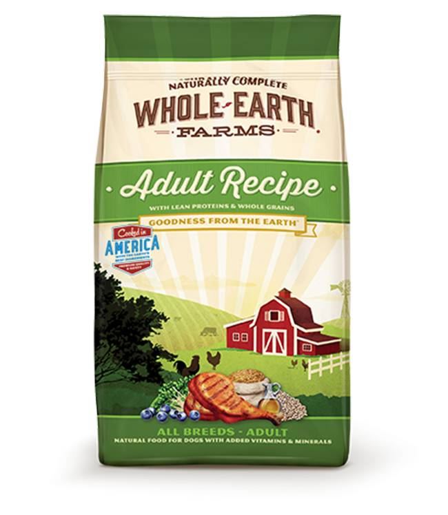 Whole Earth Farms Adult Recipe for all Adult Breeds