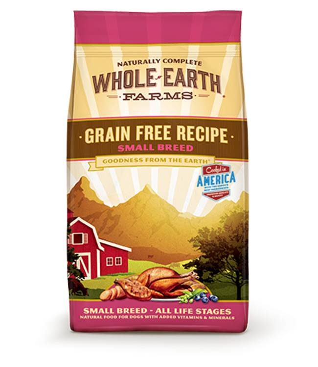 Whole Earth Farms Grain Free Recipe for Small Breed Dogs of all Life Stages