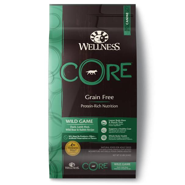 Wellness - Core Wellness Core® Grain Free Dry Formula with Wild Game for Dogs