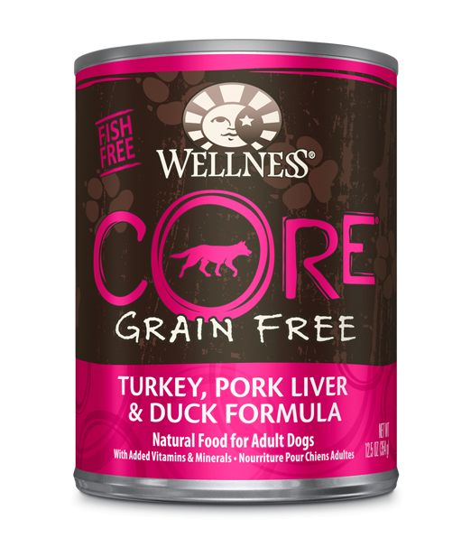 Wellness - Core Wellness Core® Wet Formula with Turkey, Pork Liver and Duck