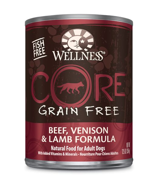 Wellness - Core Wellness Core® Wet Formula with Beef, Venison and Lamb for Dogs