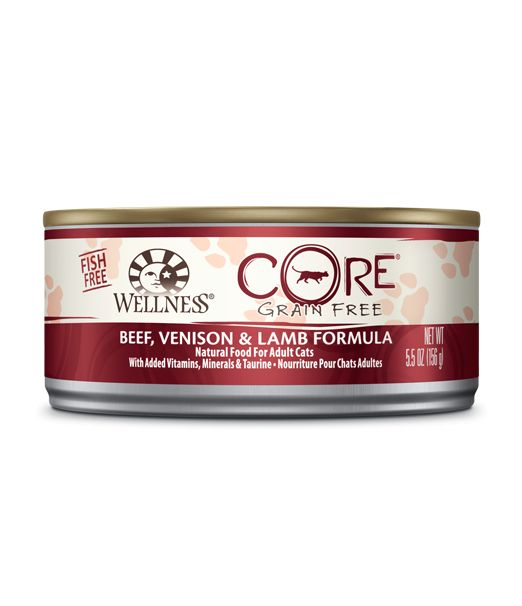 Wellness - Core Wellness Core® Wet Formula with Beef, Venison and Lamb for Cats