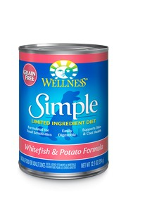 Wellness - Simple Wellness Simple Whitefish and Potato Canned Recipe for Dogs