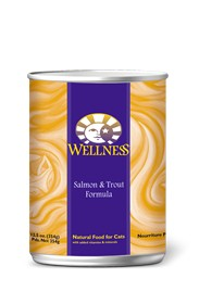 Wellness - Complete Health Wellness Complete Health Salmon and Trout Canned Recipe for Cats