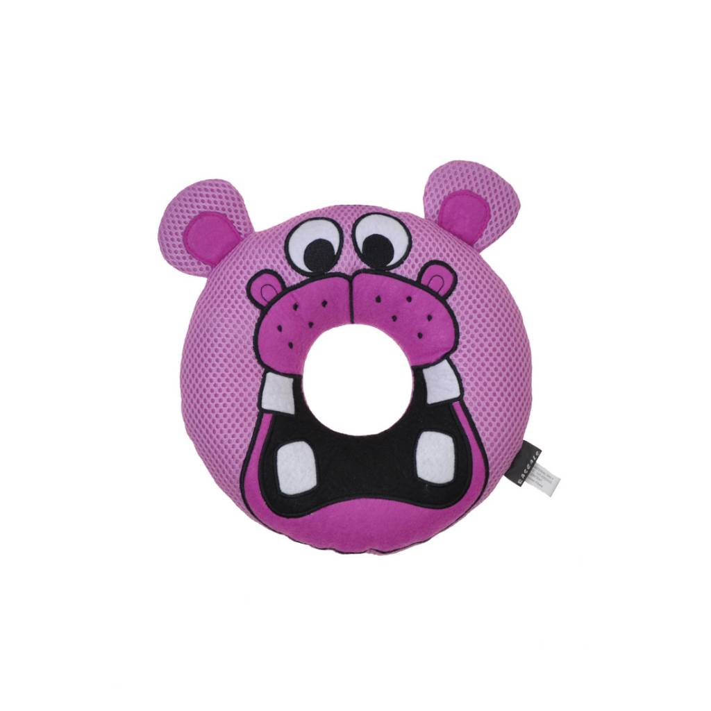 Rascals Rascals Rugged Ringers - Hartly Hippo Dog Toy