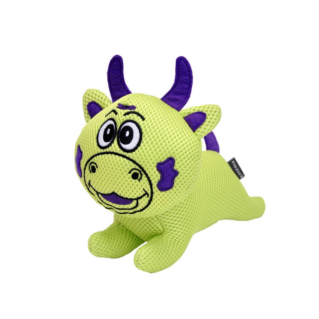 Rascals Rascals Mighty Mates - Cady Cow Dog Toy