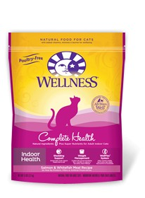 Wellness - Complete Health Complete Health Indoor Health Salmon & Whtiefish Meal Recipe for Cats